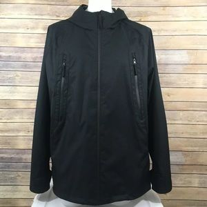 Marc New York Rain Windbreaker Jacket Zip Hooded